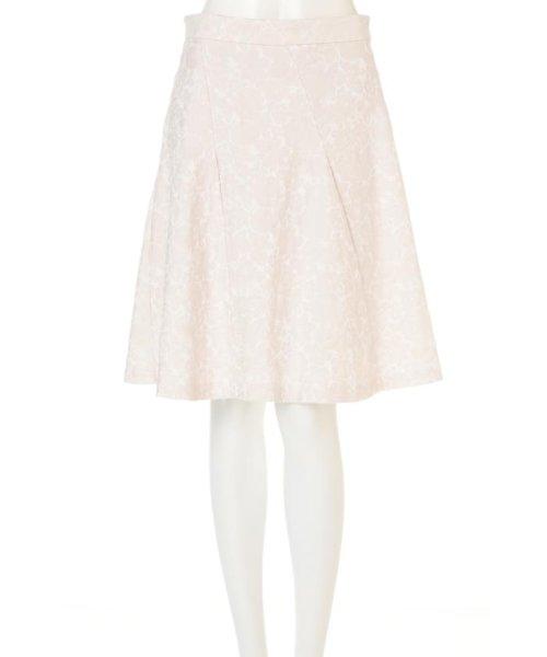 PROPORTION BODY DRESSING(プロポーション ボディドレッシング)/フラワーフルーツジャガードエスカルゴスカート/1217120201_img12
