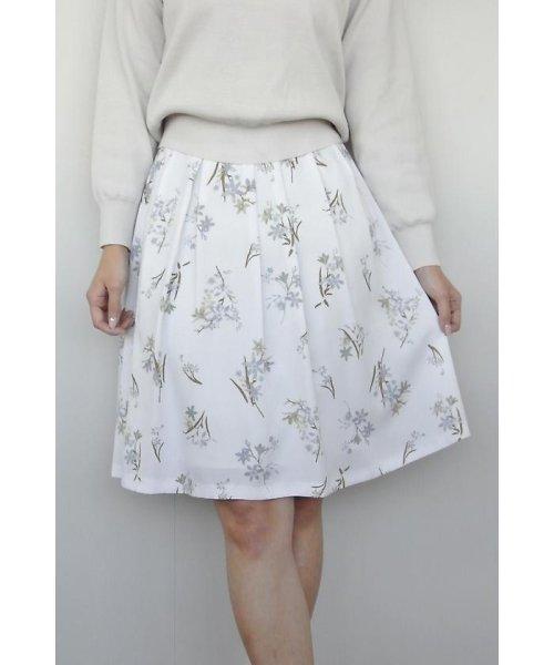 PROPORTION BODY DRESSING(プロポーション ボディドレッシング)/フローリッシュボタニカルプリントスカート/1217120009_img17