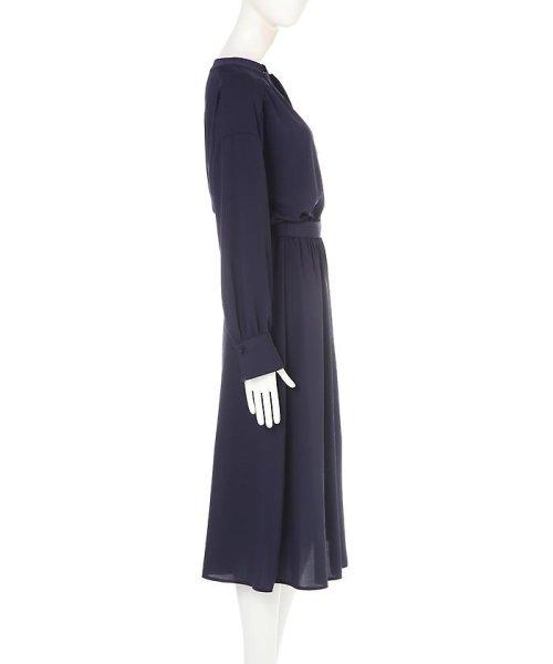 PROPORTION BODY DRESSING(プロポーション ボディドレッシング)/《BLANCHIC》 ノッチネックジョーゼットワンピース/1217149202_img05