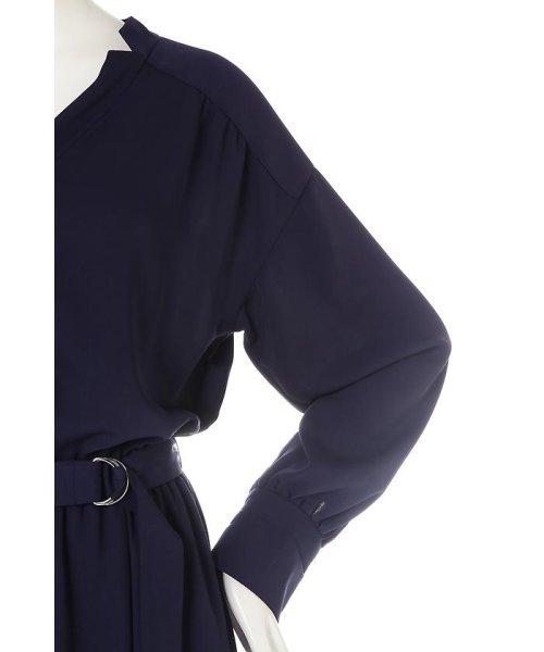 PROPORTION BODY DRESSING(プロポーション ボディドレッシング)/《BLANCHIC》 ノッチネックジョーゼットワンピース/1217149202_img07