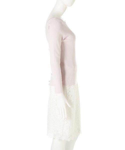 PROPORTION BODY DRESSING(プロポーション ボディドレッシング)/バックボタンニット/1217170208_img05