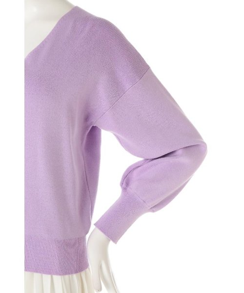 PROPORTION BODY DRESSING(プロポーション ボディドレッシング)/《BLANCHIC》コットンモダールニットバックリボン/1217176203_img11