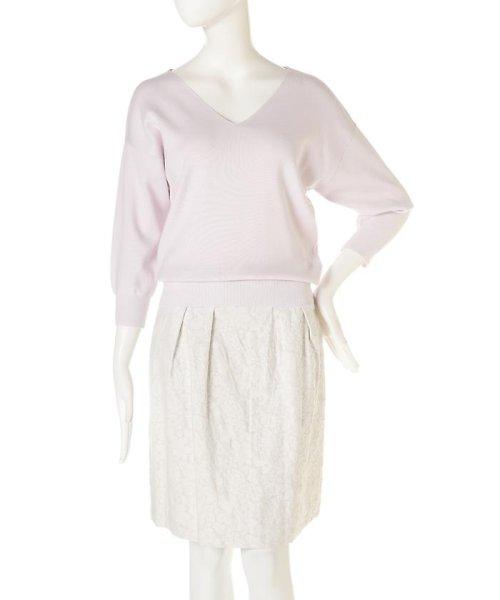 PROPORTION BODY DRESSING(プロポーション ボディドレッシング)/ドルマンVニット8分袖/1217170210_img08