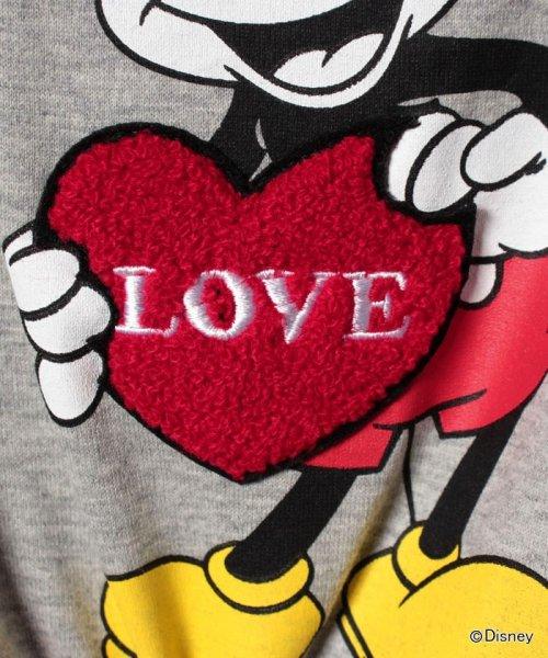 X-girl Stages(エックスガール ステージス)/Disneyコラボミッキーマウス・ミニーマウスプリントTシャツ/9272229_img04