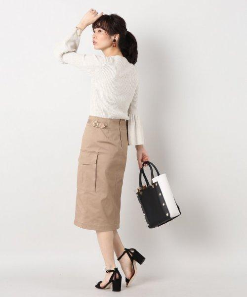IENA(イエナ)/綿ツイル ミリタリースカート/17060900602010_img02