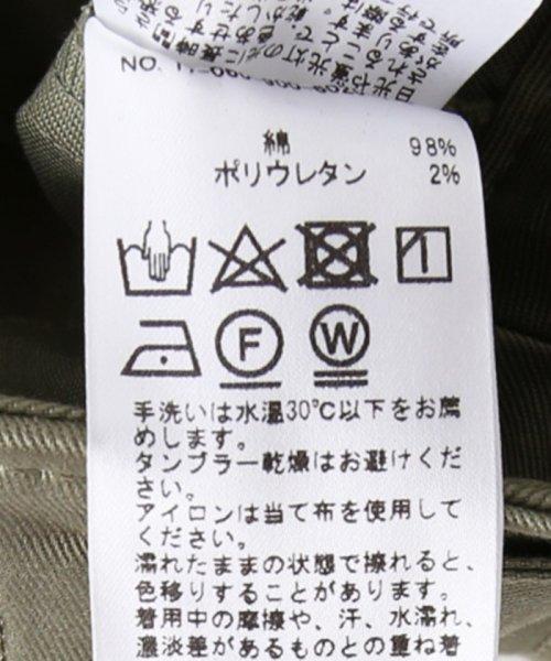 IENA(イエナ)/綿ツイル ミリタリースカート/17060900602010_img11