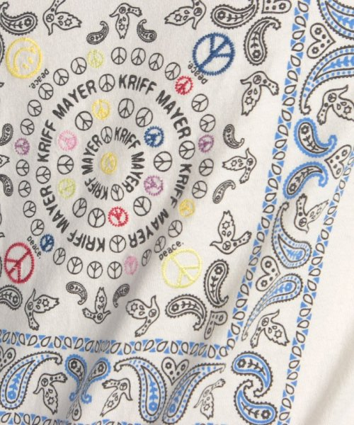 KRIFF MAYER(クリフ メイヤー)/バンダナ刺繍T/1715113_img04