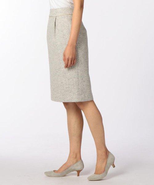 NOLLEY'S(ノーリーズ)/スラブカルゼツイードスカート/70055106002_img02