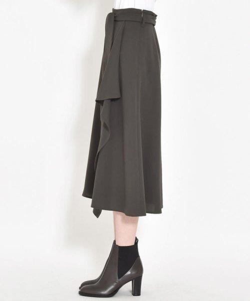 MAYSON GREY(メイソングレイ)/【deluxee'm】ラッフルラップスカート/210365085_img01