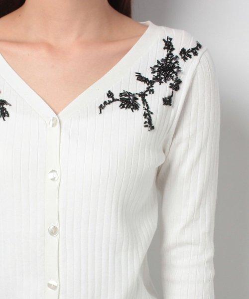 JUSGLITTY(ジャスグリッティー)/ビーズ刺繍カーディガン/47353410_img13