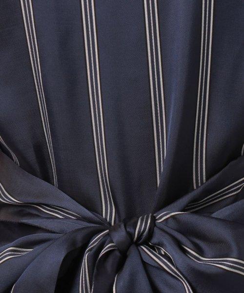LANVIN en Bleu(ランバン オン ブルー)/【セットアップ対応商品】リボンストライプブラウス/3796601_img16
