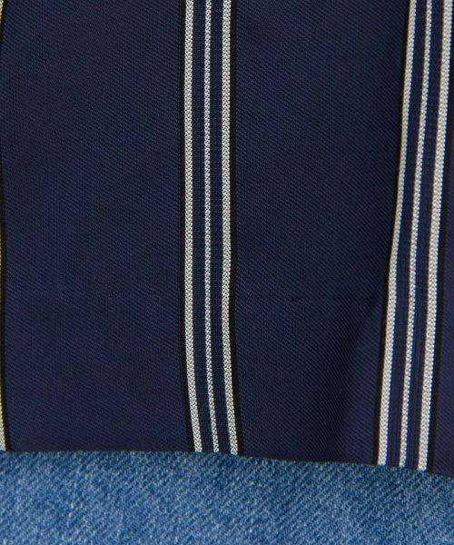 LANVIN en Bleu(ランバン オン ブルー)/【セットアップ対応商品】リボンストライプブラウス/3796601_img10