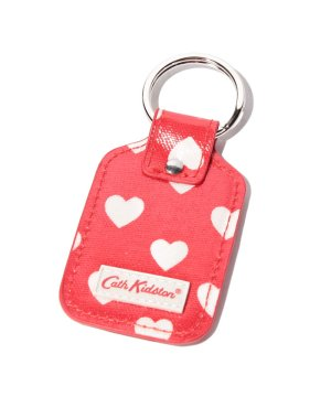 【Outlet】Key fob O/C Mini dot hearts N/U RED