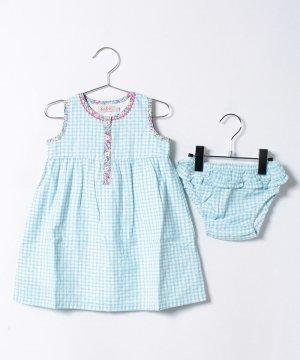 【Outlet】【12-18ヶ月】ドレス & ブリーフ ミニチェック