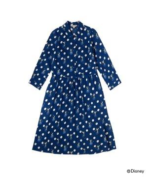 【6】ディズニー ピーター・パン ボタンスポット ドレス