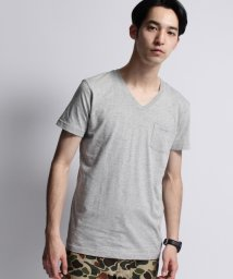 BASECONTROL/inner light v neck pocket tee/000983802