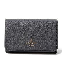 LANVIN en Bleu(BAG)/リュクサンブール 名刺入れ/LB0000122
