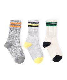 SHIPS KIDS/SHIPS KIDS:3p line socks/001158423