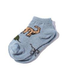 SHIPS KIDS/Jefferies Socks:ダイナソー ローカット ソックス2/001158432