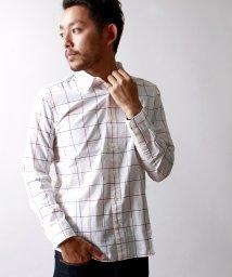 WEGO/ウインドウペンチェックシャツ/001220804