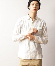 WEGO/リネンブレンドシャツ/001262529