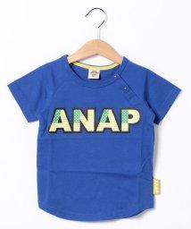 ANAP KIDS/USAロゴラグランTee/001383388