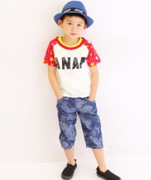 ANAP KIDS/星柄ラグランTシャツ/001383221