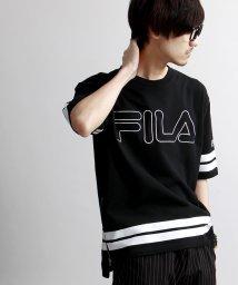 WEGO/FILAサイドジップTシャツ(5)/001404767