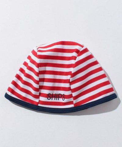 SHIPS KIDS:ボーダー スイムキャップ