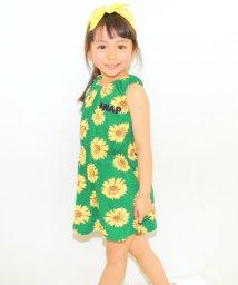 ANAP KIDS/マーガレット柄ノースリーブワンピース/001383230