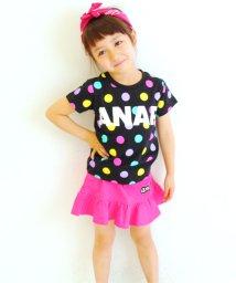 ANAP KIDS/カラフルドットロゴTee/001422790