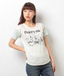 Ray Cassin /怪獣ドロップショルダーTシャツ/001592744