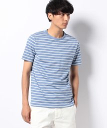 SHIPS MEN/SC: スペック染め マリンボーダー クルーネック ポケット Tシャツ/001614746