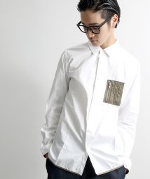 WEGO/ミリタリーペンポケットシャツ/001565155