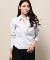 NIJYUSANKU/Cancliniシャーティング カシュクールシャツ/001623752