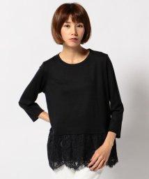 JIYU-KU /ペプラムTEEレース カットソー/001624647