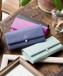 LANVIN en Bleu(BAG)/LANVIN en Bleu シャペル かぶせ型長財布/LB0001698