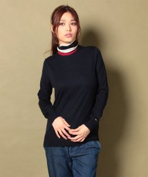 TOMMY HILFIGER WOMEN/GALA COLOR BLOCK ROLL‐NK SWTR/001659843