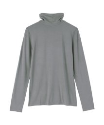 titivate/HEAT FINE タートルネックロングTシャツ/001688996