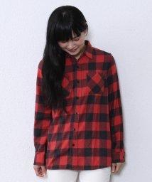 coen/杢ネルバッファローチェックシャツ/001680999