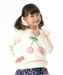 apres les cours/ribbon cherry Aライントレーナー/001709259