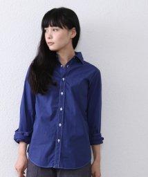 coen/ブロードソリッドスリムワイヤーシャツ/001680998