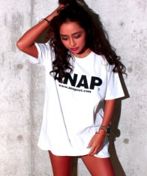 ANAP/ロゴBIG Tシャツ/001654188