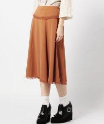 ROSE BUD/(ROSE BUD)フリンジミモレ丈スカート/001749681