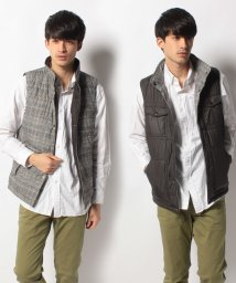 TOMMY HILFIGER MENS/AS RVSB CHK ALEXANDER VEST/001753996
