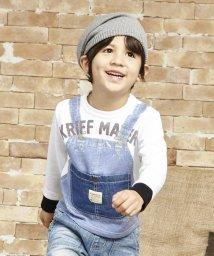 KRIFF MAYER(Kids)/フェイクレイヤードTシャツ/001755642