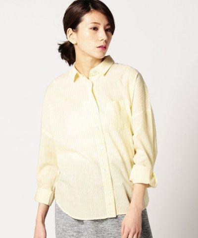 (ROSEBUD)レギュラーカラーロングスリーブシャツ