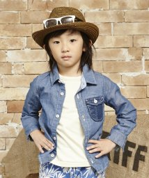 KRIFF MAYER(Kids)/異素材PK長袖シャツ/140〜160cm/001773318
