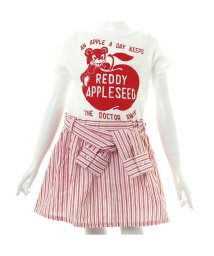 apres les cours / REDDY APPLESEED/レイヤードストライプワンピース/001785113