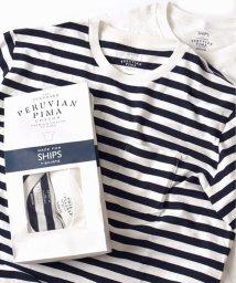 """SHIPS MEN/SC: SHIPS(シップス) """"PERUVIAN PIMA COTTON"""" 2パック ポケットTシャツ/001790345"""